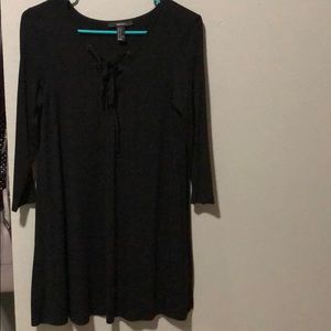 Black casual dress forever 21